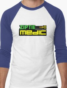 ZIP TIE medic (1) Men's Baseball ¾ T-Shirt