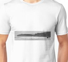 Four horses and a temple. Unisex T-Shirt