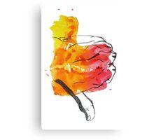 Thumbs Down Canvas Print