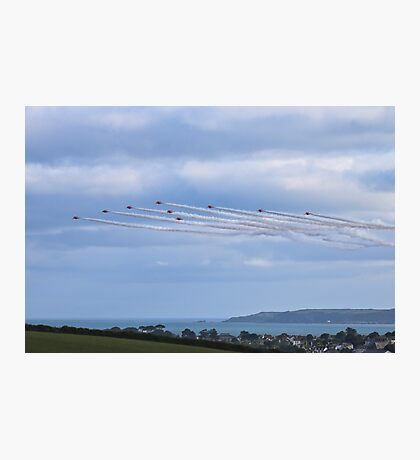 The Red Arrows Falmouth Week 2016 Photographic Print