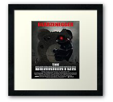 BEARINATOR Movie Poster Style Framed Print