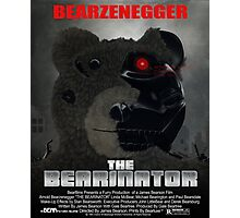 BEARINATOR Movie Poster Style Photographic Print