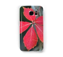 A lonely leaf! Samsung Galaxy Case/Skin