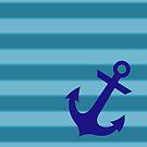 Blue anchor by IamJane--