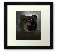 Bearinator Framed Print
