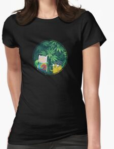 Stoner Time Womens Fitted T-Shirt