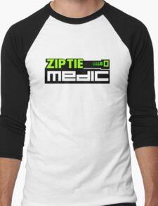 ZIP TIE medic (3) Men's Baseball ¾ T-Shirt