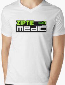 ZIP TIE medic (3) Mens V-Neck T-Shirt