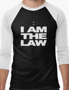 I am the Law! Men's Baseball ¾ T-Shirt