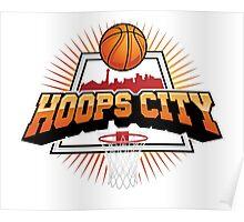 Hoops City BasketBall Poster