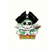 The Goonies - One Eyed Willy Variant Art Print