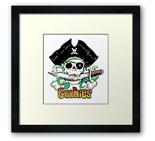 The Goonies - One Eyed Willy Variant Framed Print