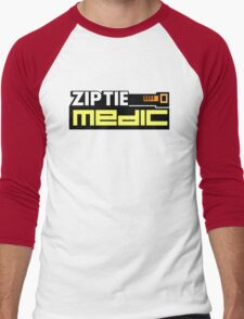 ZIP TIE medic (4) Men's Baseball ¾ T-Shirt