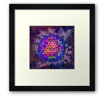 Psy Butterfly of Life  Framed Print