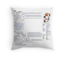 Patricia - A Bout De Souffle / Wikipedia Art Throw Pillow