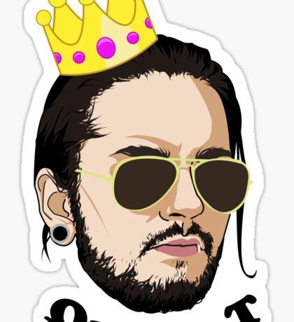Queen T - Black Text Sticker