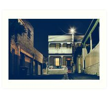 Richmond, Melbourne Art Print