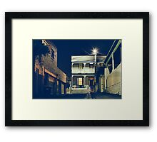 Richmond, Melbourne Framed Print