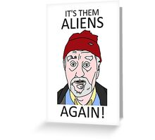 Wilfred Mott Wilf Doctor Who Greeting Card