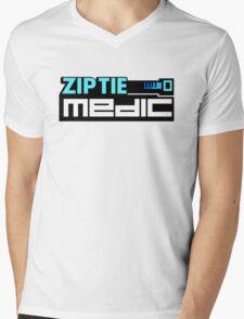 ZIP TIE medic (5) Mens V-Neck T-Shirt