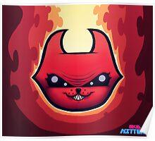 Skid Kittens - Hell Kittens FACE Poster