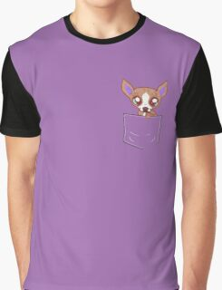 Puppy in my pocket! Graphic T-Shirt