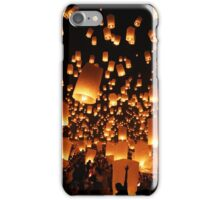 Sky Lanterns at Yee Peng Festival in Chiang Mai, Thailand iPhone Case/Skin