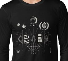 #1 Bon Iver / 22, A Million Long Sleeve T-Shirt