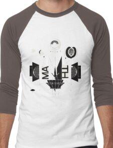 #1 Bon Iver / 22, A Million Men's Baseball ¾ T-Shirt