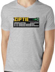 ZIP TIE medic (7) Mens V-Neck T-Shirt