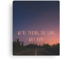 Long Way Home Canvas Print