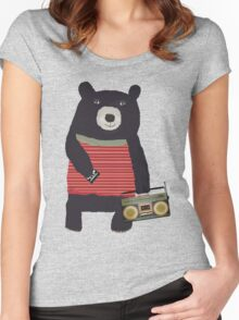 Boomer Bear Women's Fitted Scoop T-Shirt