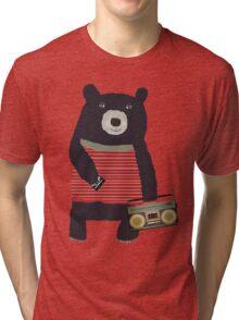 Boomer Bear Tri-blend T-Shirt