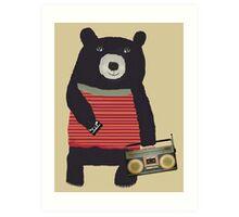 Boomer Bear Art Print