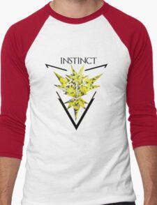 Pokemon Go- Team Instinct Men's Baseball ¾ T-Shirt