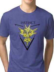 Pokemon Go- Team Instinct Tri-blend T-Shirt