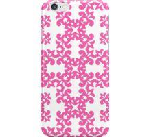 Hot Pink Damask Pattern iPhone Case/Skin