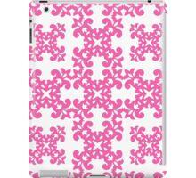 Hot Pink Damask Pattern iPad Case/Skin