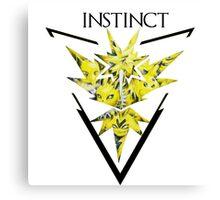 Pokemon Go- Team Instinct Canvas Print
