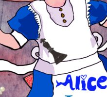Alice is Mad Sticker