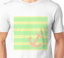 Pink anchor Unisex T-Shirt
