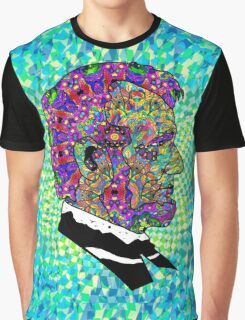 Psychedelic LSD Trip Abraham Lincoln Graphic T-Shirt