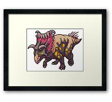 Kosmoceratops Framed Print