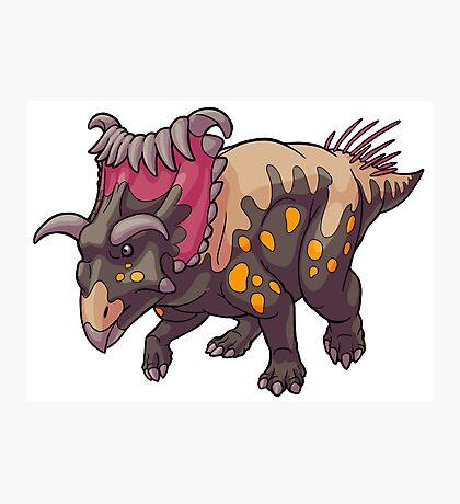 Kosmoceratops Photographic Print