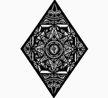 Rhombus on Cardboard Background Unisex T-Shirt