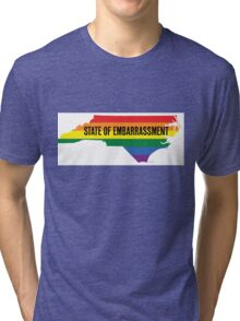 North Carolina HB2 Embarrassment Tri-blend T-Shirt