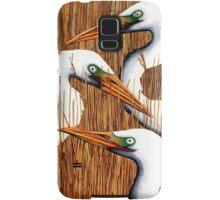 Three Egrets Samsung Galaxy Case/Skin