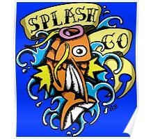 Splash Pokemon Poster