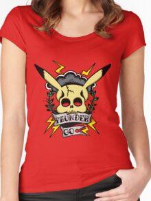 Thunder Pokemon Women's Fitted Scoop T-Shirt