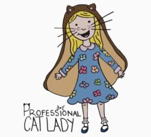 Professional Cat Lady Kids Clothes